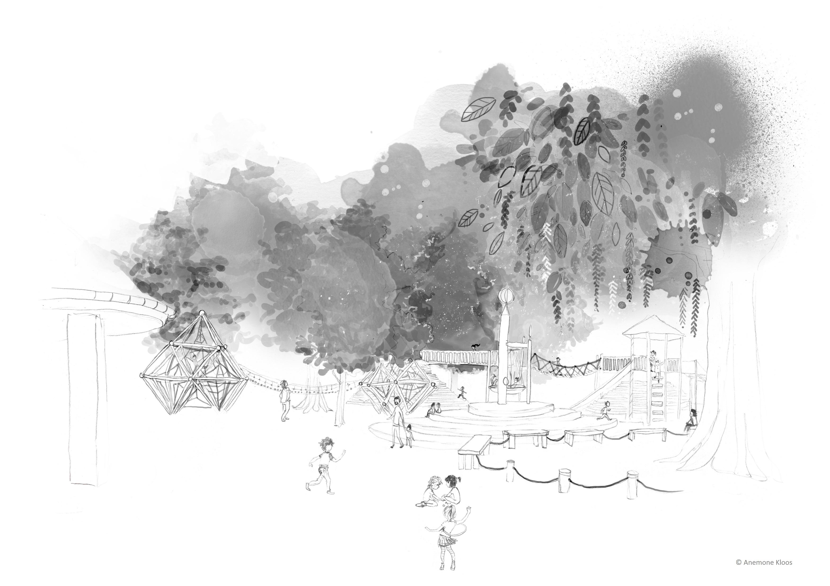 Klettergerüst Ausmalbild : Ausmalbilder spielplatz tollebild