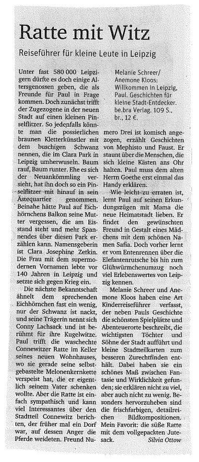 Neues Deutschland Artikel